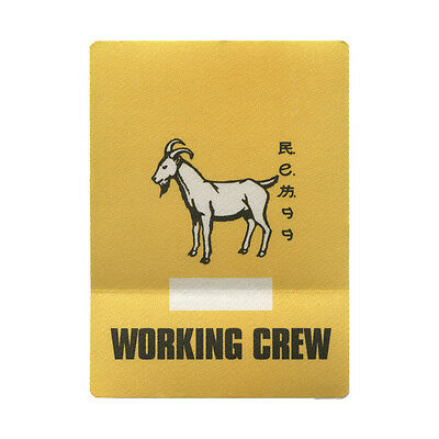 REM Yellow Working 1999 Backstage Pass