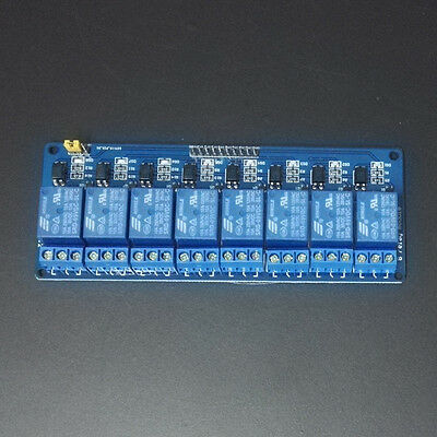 8 Channel Relay Module Low Level Signal Trigger GPIO for Arduino Raspberry Pi DS