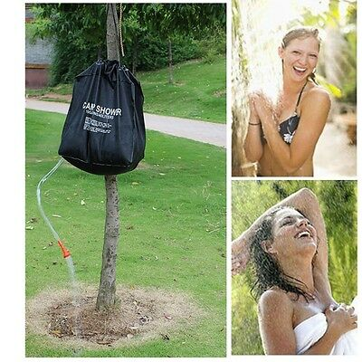 40L Solar Heater Shower Water Bag Outdoor Camping Picnic Water Storage Portable
