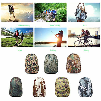 30L~40L Outdoor Backpack Protective Cover School Bag Rain Cover Nylon Waterproof
