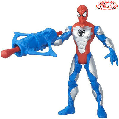 Spiderman Action Figure Con Corazza Altezza 14 cm The Sinister Six Hasbro