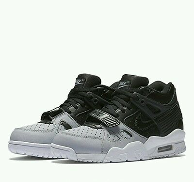 Nike Air Trainer 3 (GS) in Black Wolf Grey for Youth, UK Size 5, BNIB *VERY RARE