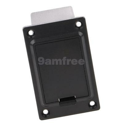 9V Battery Case Cover Box for Active Guitar Bass Pickup Electronics Black #3