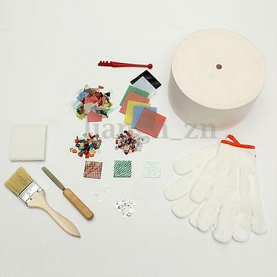 13Pcs/Set Household Large Microwave Kiln Kit Stained Glass Fusing DIY Jewellery