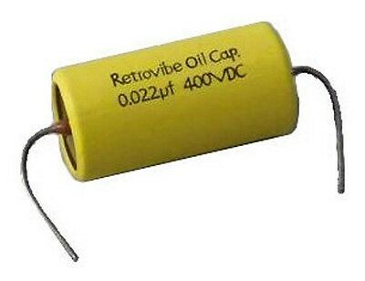 Oil Capacitor 0.022mf 400 VDC Montreux Retrovibe