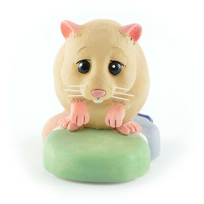 RSPCA Perfect Pets - Hamish - Hamster Figurine - PT13 - Robert Harrop