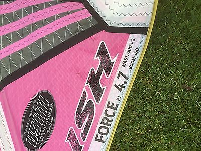 Naish Force 4.7 windsurf sail. 2014