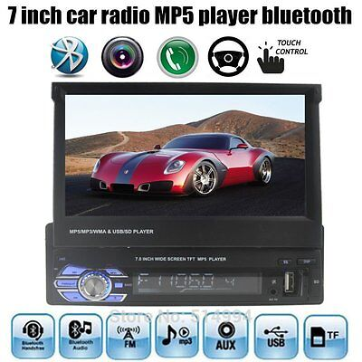 7 inch 1 DIN Car MP5 MP4 Player Radio stereo HD Bluetooth Touch Screen USB/TF/FM