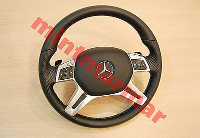 Mercedes Benz M Class W246 W166 Ml Steering Wheel With Airbag 11-15 Oe