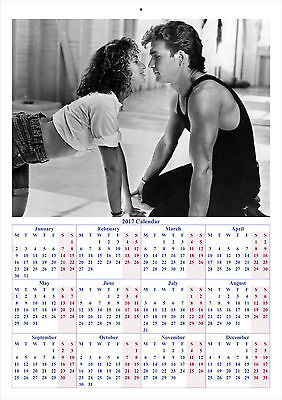 Dirty Dancing - 2017 A4 CALENDAR **BUY ANY 1 AND GET 1 FREE OFFER**