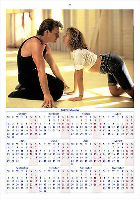 Dirty Dancing V2 - 2017 A4 CALENDAR **BUY ANY 1 AND GET 1 FREE OFFER**
