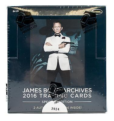 James Bond Archives: Spectre Edition Trading Cards Box (Rittenhouse 2016)