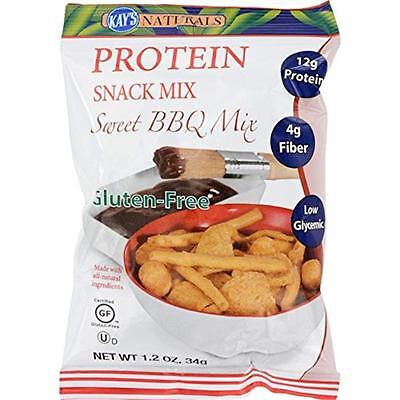 Kays Naturals 1198944 Sweet Barbeque Protein Snack Mix, 1.2 oz Case of 6