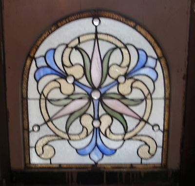 Antique Philadelphia stained glass window