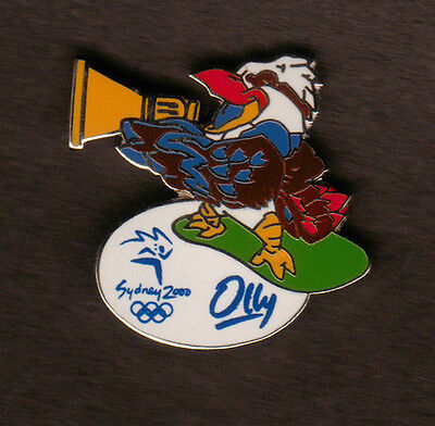 Mascot Olly Pin Badge - Diving events - Sydney Summer Olympics