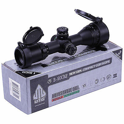 Leapers UTG 3-9x32 CQB Compact Air Rifle Scope Illuminated Hunting Sight