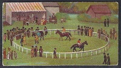 Wills Scissors-Derby Day Series Horse Racing (With Title)-#04- Quality Card!!!