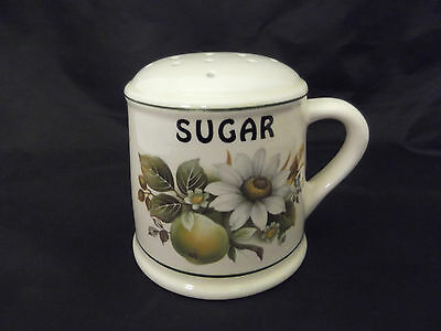 Brixham Pottery Ceramic Sugar Sifter Good Used Condition 9 Cm Height
