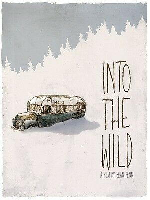 Into The Wild movie poster print : 12 x 17 inches : Emile Hirsch (style a)