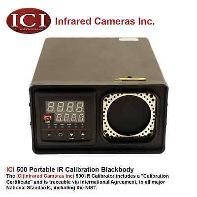 ICI 500 Portable IR Infrared Thermal Blackbody Calibrator Source - Brand New