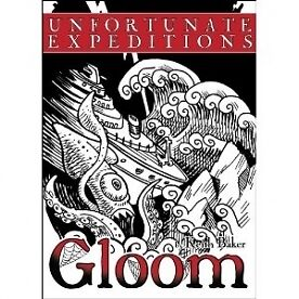 Gloom Unfortunate Expeditions 2nd Edition - Brand new!