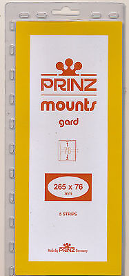 Prinz Scott Stamp Mount 76/265 CLEAR Background Pack of 5