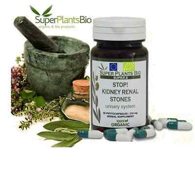 Kidney Support *60 Herbal-Natural Capsules-Kidney Stones Dissolver Supplements