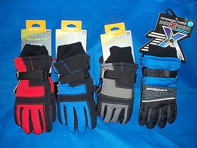 Thinsulate 3M Boys Youth Winter Gloves snow warm insulated NWT new