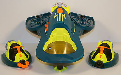 """2007 Electronic Turbo Shuttle 16"""" Action Figure Space Ship Planet Heroes"""