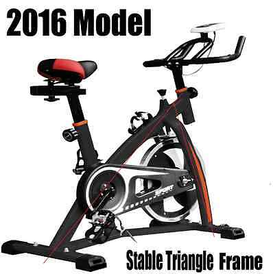 Top Quality Heavy Duty Led Monitor 18Kg Flywheel Exercise Bike Home Fitness Gym