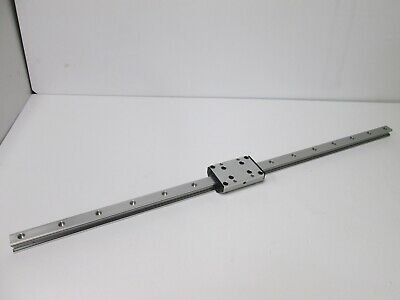 "New Parker RK-FD 20S Linear Rail and Carriage, Rail Length: 34-3/8"" (873.125mm)"