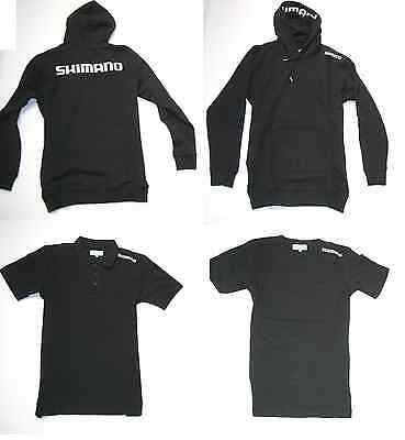Shimano Clothing Pack Schwarz Pullover + T-Shirt + Poloshirt Combo Kleidungsset