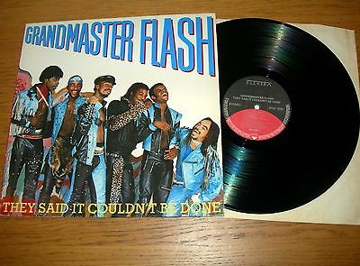 Grandmaster Flash - They Said It Couldn't Be Done Lp