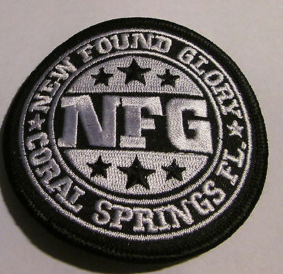New Found Glory Collectable Rare Vintage Patch Embroided 2003 Metal Live  Punk