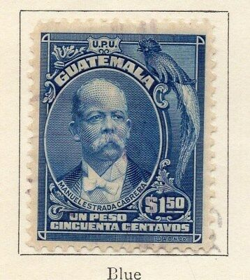 Guatemala 1918 Early Issue Fine Mint Hinged $1.50c. 108010