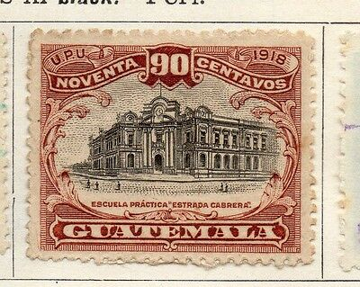 Guatemala 1919 Early Issue Fine Mint Hinged 90c. 108013