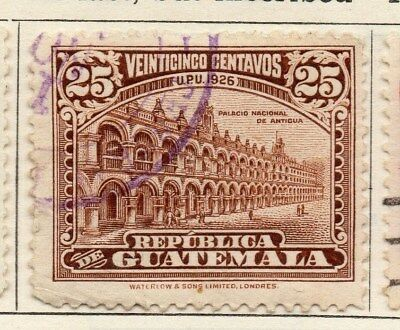 Guatemala 1925 Early Issue Fine Used 25c. 108057