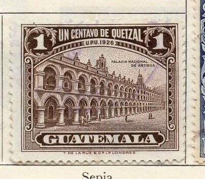 Guatemala 1929 Early Issue Fine Used 1c. 108069