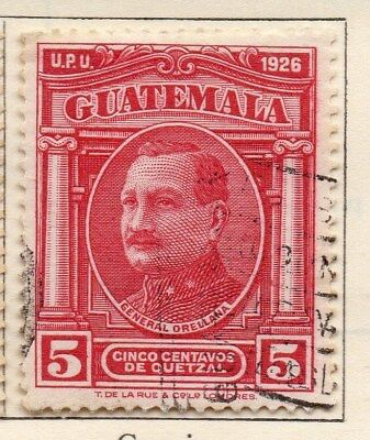 Guatemala 1929 Early Issue Fine Used 5c. 108073