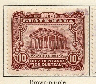 Guatemala 1929 Early Issue Fine Used 10c. 108074