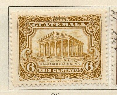 Guatemala 1925 Early Issue Fine Mint Hinged 6c. 108096