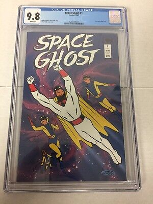 Space Ghost 1 Cgc 9.8 White Pages 1987