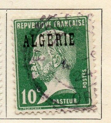 Algeria 1924-26 Early Issue Fine Used 10c. Optd 106847