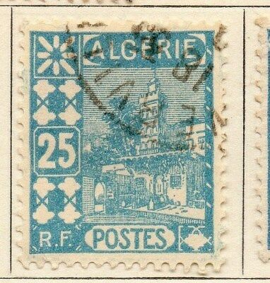 Algeria 1926-27 Early Issue Fine Used 25c. 106879