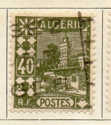 Algeria 1926-27 Early Issue Fine Used 40c. 106882