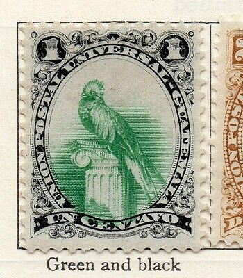 Guatemala 1881 Early Issue Fine Mint Hinged 1c. 106932