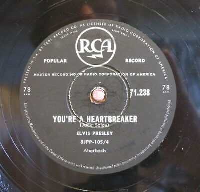 Elvis Presley / You`re A Heartbreaker & One Night (03-0217)