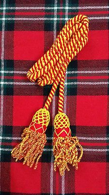Tc Army Bugle Wool Cord Red Yellow Color/silver Bugle Wool Cord/brass Bugle Cord