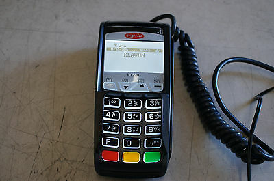 Ingenico iCT220 POS Dual Com Credit Card Terminal Chip Reader XKB-ICT220 w/ P/S