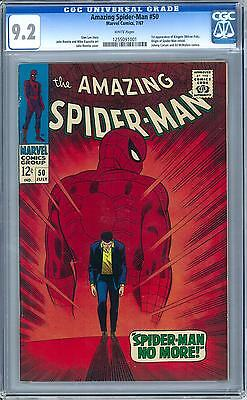Amazing Spider-Man #50 CGC 9.2 (W) 1st Appearance of Kingpin